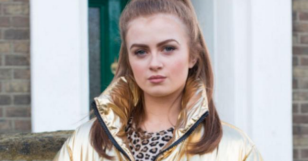 EastEnders' Tiffany Butcher lands herself in danger