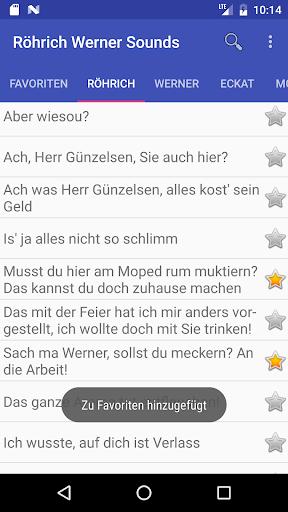 Ru00f6hrich Werner Soundboard 1.08 screenshots 2