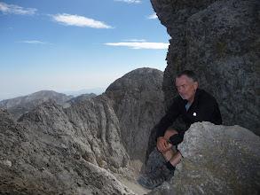 Photo: La Silla del Caballo Cimero vista desde la subida a la Morra de Lechugales