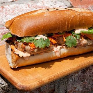 Banh Mi Chicken Burger