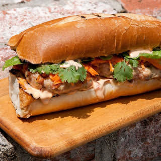 Banh Mi Chicken Burger.