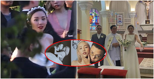 Vợ chồng Tóc Tiên bật khóc trong tiệc cưới bí mật, khoe ảnh cưới cá tính độc lạ hết nấc