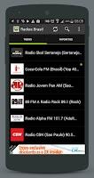 Screenshot of Radios Brasil