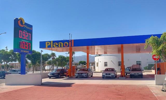 Nueva estación de servicio de Plenoil en Campohermoso.