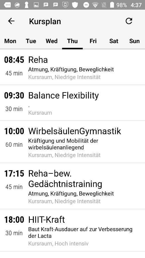 Fitnessclub Fit-Life- screenshot