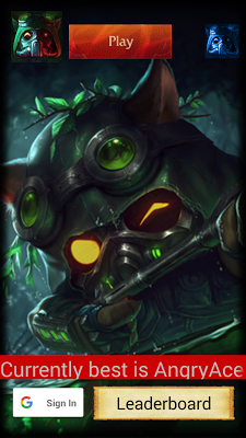 Quiz for LoL with RP Rewards - screenshot