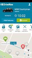 Screenshot of DriveNow Carsharing