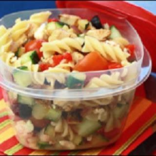 HG's MediterraneYUM Pasta Salad