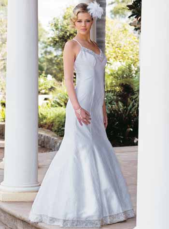 Night Elegant Wedding Gown