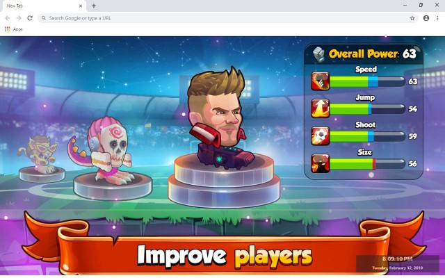 Head Ball 2 New Tab & Wallpapers Collection