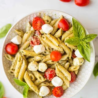 Easy Pesto Pasta.