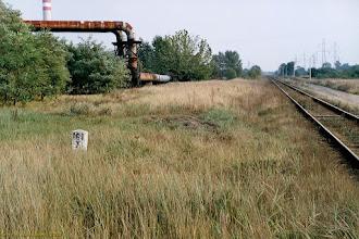 Photo: Miejsce dawnego posterunku odgałęźnego {Grębocin Podg.; 2003-09-17}