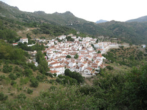 Photo: Andulucian village on the road from Ronda