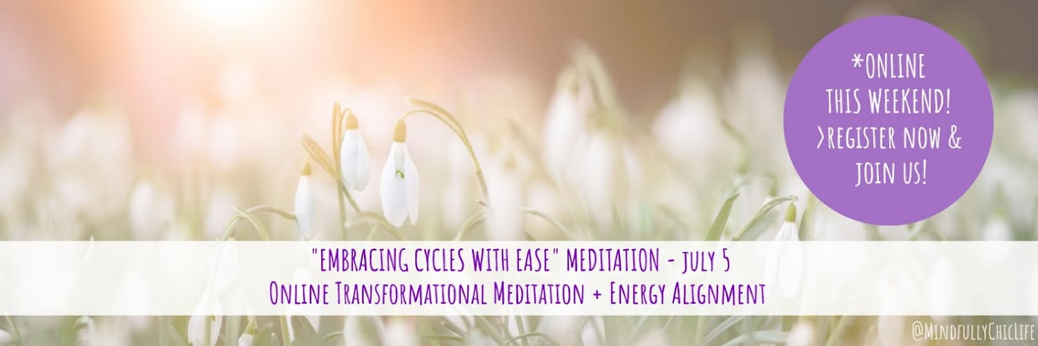 """""""Embracing Cycles With Ease"""" 