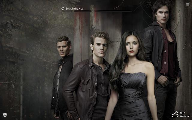 Vampire Diaries HD Wallpapers New Tab Theme