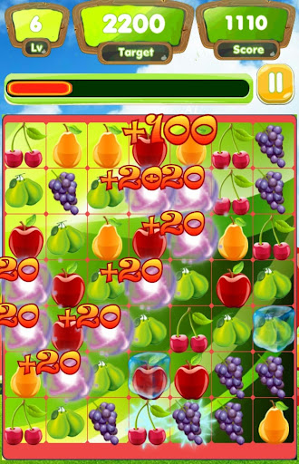 Beautiful Fruit-full color-look for the same fruit - screenshot