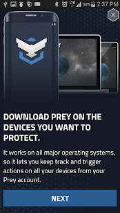 Prey Anti Theft Screenshot