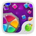 Colorful Stones Keyboard Theme icon
