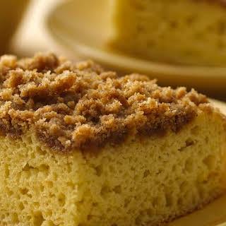 Gluten-Free Bisquick™ Cinnamon Struesel Coffee Cake.