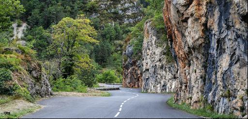 Route Gorges du Tarn