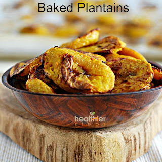 Easy Oven Baked Sweet Plantains.