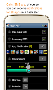 Flash Alert - Flicker Light screenshot 0