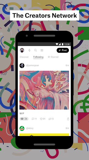 Screenshot 0 for Ello's Android app'