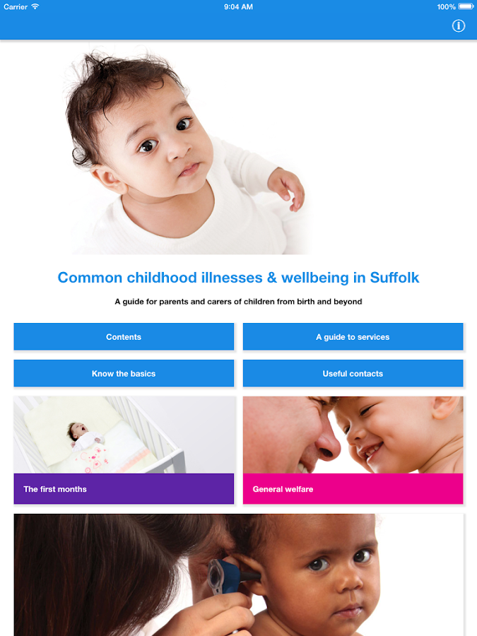Suffolk Child Health- screenshot