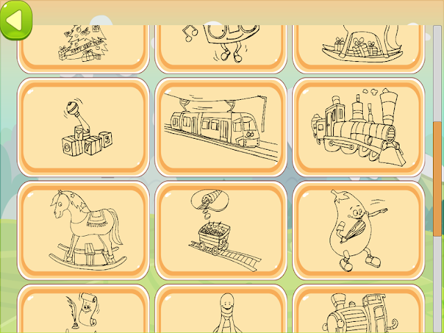 android Train Coloring Book Screenshot 10