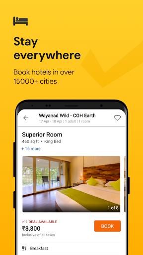 Cleartrip - Flights, Hotels, Train Booking App screenshot 2
