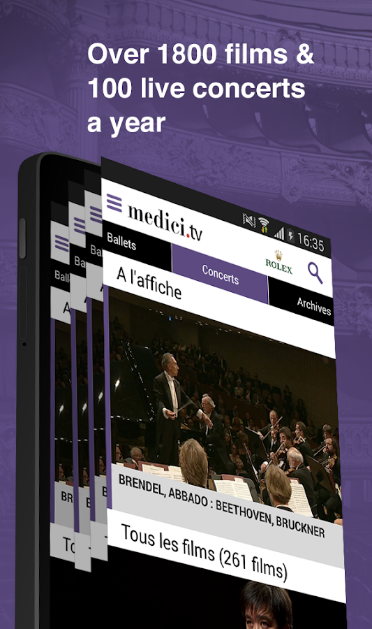 medici.tv - Classical music- screenshot