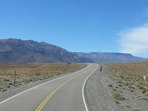 Photo: Road in Route 40, Patagonia