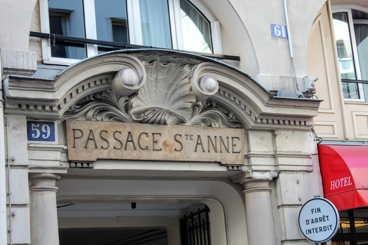ALLAN KARDEC EM PARIS » Rue Sainte-Anne & Passage Sainte-Anne