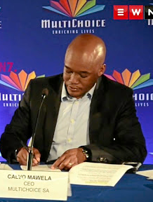 File photo of MultiChoice SA CEO Calvo Mawela. Multichoice pulled the plug on the channel at midnight on Tuesday when their contract with Afro Worldview came to an end.