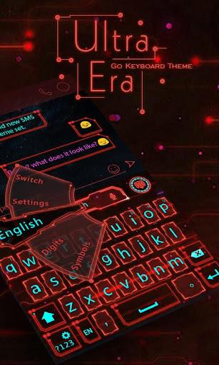 Ultra Era GO Keyboard Theme
