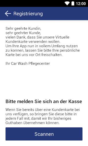 CAR Wash Card