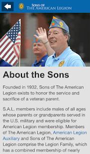 Sons of The American Legion- screenshot thumbnail