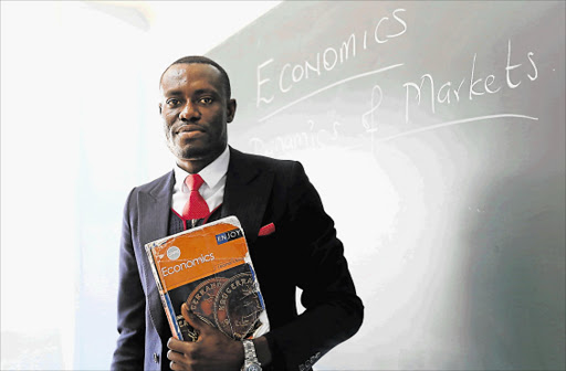 EXTRA MILE: EL Science College teacher Solomon Baah Onwona has been nominated for a national excellence in teaching award Picture: SIBONGILE NGALWA