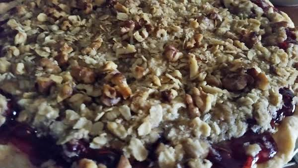 Cherry Crisp  Pie Recipe