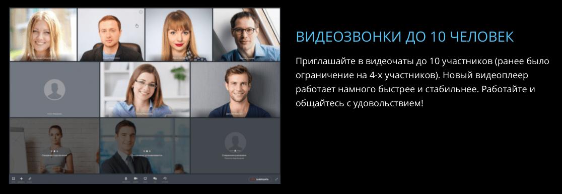 Видеоконференции в Битрикс24