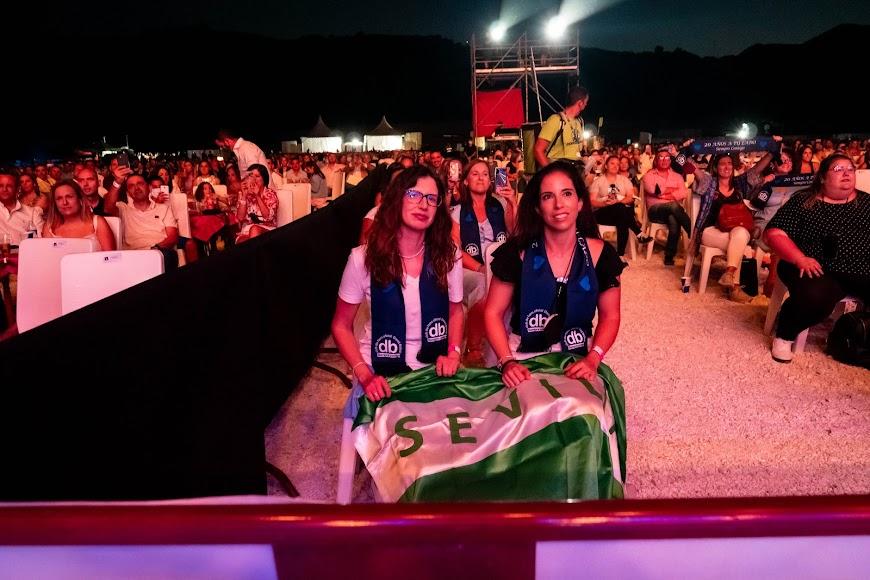 Al concierto acudieron fans de toda Andalucía