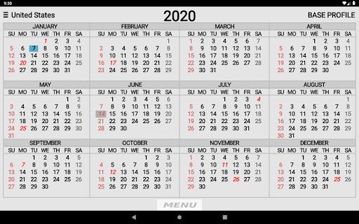 Wallet Calendar screenshots 9