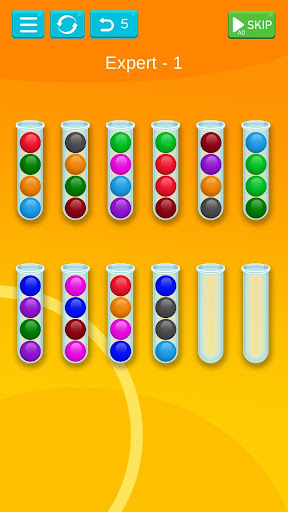 Ball Sort - Bubble Sort Puzzle Game modavailable screenshots 7
