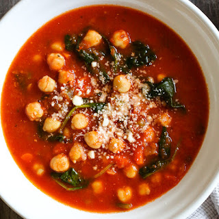 Chickpea Tomato Soup with Rosemary (Instant Pot, Slow Cooker and Stove Top) Recipe