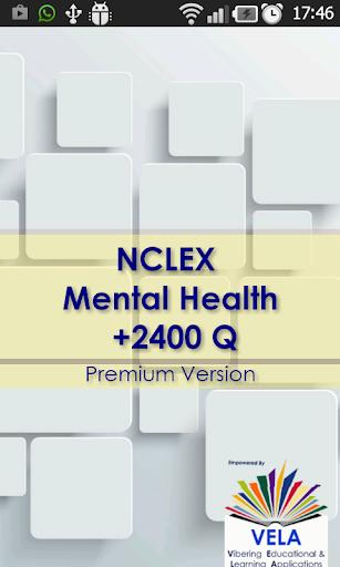 NCLEX Mental Health +2400Q