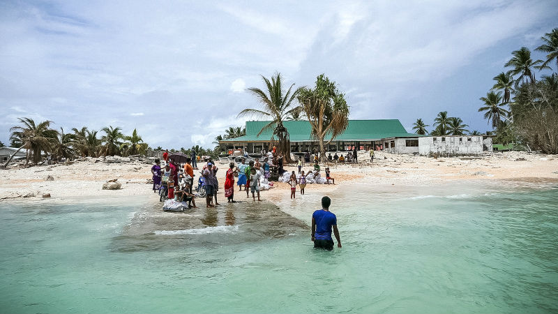 What does the data tell us about climate funding in small island states?