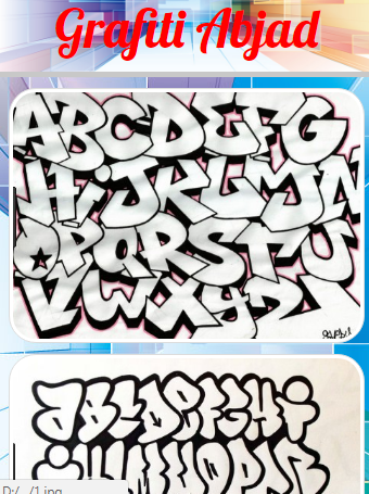 Grafiti Alfabet 1.4 screenshots 2