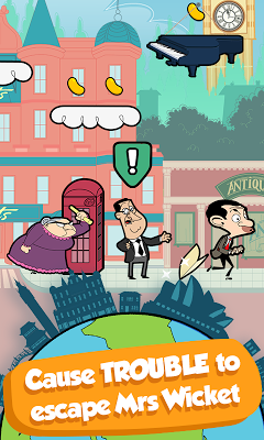 Mr Bean - Around the World- screenshot