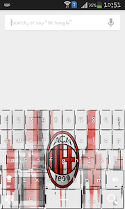 Football logo club Keyboard screenshot 1
