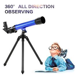 Telescop pentru copii - cu 3 lentile de marire